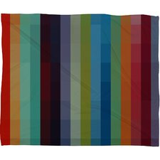 Madart Inc. City Colors Polyester Fleece Throw Blanket