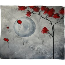 Madart Inc. Far Side Of The Moon Polyester Fleece Throw Blanket