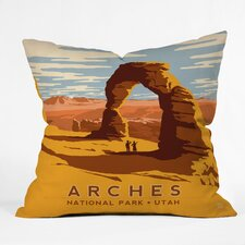 Anderson Design Group Arches Woven Polyester Throw Pillo