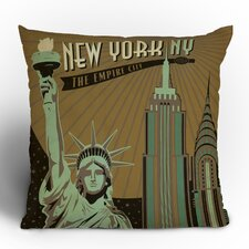 <strong>DENY Designs</strong> Anderson Design Group New York Woven Polyester Throw Pillow