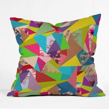 Bianca Green Colorful Thoughts Indoor/Outdoor Polyester Throw Pillow