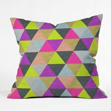 <strong>DENY Designs</strong> Bianca Green Pyramid Woven Polyester Throw Pillow