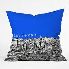 Bird Ave Las Vegas Woven Polyester Throw Pillow