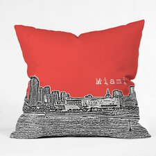 <strong>DENY Designs</strong> Bird Ave Miami Indoor/Outdoor Polyester Throw Pillow