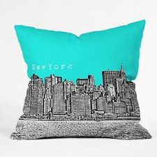 <strong>DENY Designs</strong> Bird Ave New York Indoor/Outdoor Polyester Throw Pillow