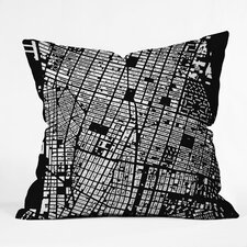 <strong>DENY Designs</strong> CityFabric Inc NYC Indoor/Outdoor Polyester Throw Pillow