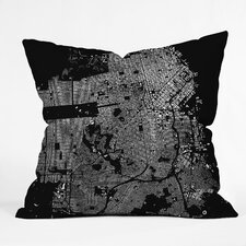 <strong>DENY Designs</strong> CityFabric Inc San Francisco Woven Polyester Throw Pillow