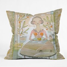 Cori Dantini Always Thoughtful Woven Polyester Throw Pillow