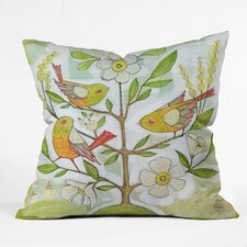 Cori Dantini Community Tree Indoor / Outdoor Polyester Throw Pillow