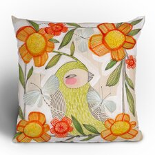 Cori Dantini Fine Comanions Woven Polyester Throw Pillow