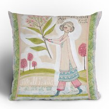<strong>DENY Designs</strong> Cori Dantini Small Truths Woven Polyester Throw Pillow
