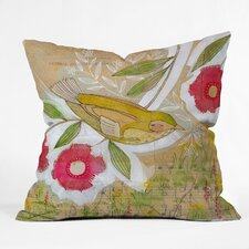 <strong>DENY Designs</strong> Cori Dantini Sweet Meadow Bird Indoor/OCori Dantini Sweet Meadow Bird Indoor / Outdoor Polyester Throw Pillow