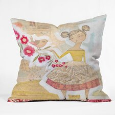 Cori Dantini The Secret to Happiness Woven Polyester Throw Pillow