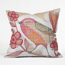 Cori Dantini Wee Lass Woven Polyester Throw Pillow