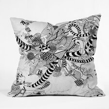 Iveta Abolina Play Woven Polyester Throw Pillow