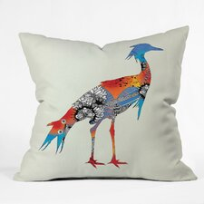 <strong>DENY Designs</strong> Iveta Abolina Bird Woven Polyester Throw Pillow