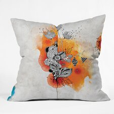 <strong>DENY Designs</strong> Iveta Abolina Forbbiden Thoughts Indoor / Outdoor Polyester Throw Pillow