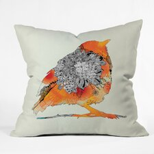 <strong>DENY Designs</strong> Iveta Abolina Bird Indoor / Outdoor Polyester Throw Pillow