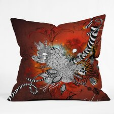<strong>DENY Designs</strong> Iveta Abolina Wild Lilly Indoor / Outdoor Polyester Throw Pillow