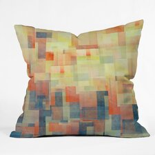 Jacqueline Maldonado Cubism Dream Indoor / Outdoor Polyester Throw Pillow