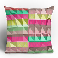 Jacqueline Maldonado Pyramid Scheme Polyester Throw Pillow