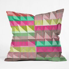 <strong>DENY Designs</strong> Jacqueline Maldonado Pyramid Scheme Indoor / Outdoor Polyester Throw Pillow