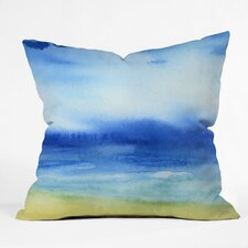 Jacqueline Maldonado Sea Church Indoor / Outdoor Polyester Throw Pillow