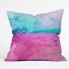 Jacqueline Maldonado Tidal Color Indoor / Outdoor Polyester Throw Pillow