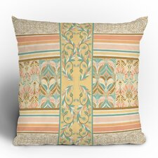 Jacqueline Maldonado Vintage Stripe Polyester Throw Pillow