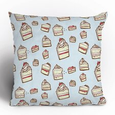 Jennifer Denty Cake Slices Polyester Throw Pillow