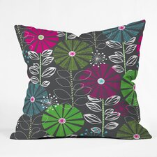Khristian A Howell Cape Town Blooms Woven Polyester Throw Pillow