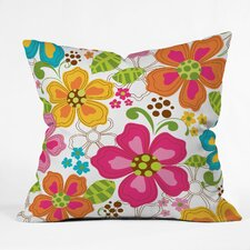 <strong>DENY Designs</strong> Khristian A Howell Kaui Blooms Woven Polyester Throw Pillow