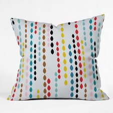 Khristian A Howell Nolita Drops Indoor / Outdoor Polyester Throw Pillow