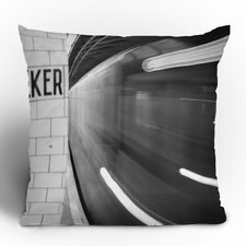 Leonidas Oxby The Subway Woven Polyester Throw Pillow
