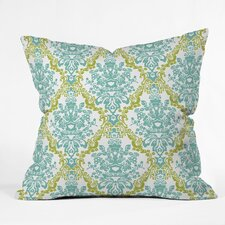 Rebekah Ginda Design Lovely Damask Throw Pillow