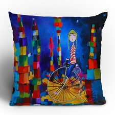 Robin Faye Gates Out of Bounds Polyester Throw Pillow