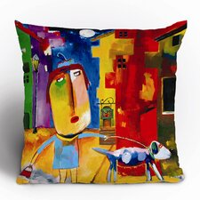 <strong>DENY Designs</strong> Robin Faye Gates Sylvia Needs Eggs Polyester Throw Pillow
