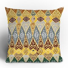 Romi Vega Diamond Tile Polyester Throw Pillow