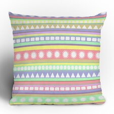 Romi Vega Pastel Pattern Polyester Throw Pillow