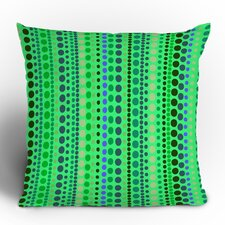 Romi Vega Retro Polyester Throw Pillow