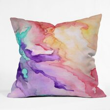 Rosie Brown Color My World Throw Pillow