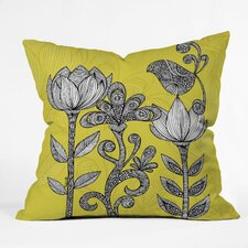 Valentina Ramos Garden Polyester Throw Pillow