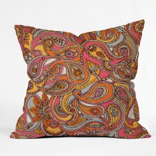 Valentina Ramos Spring Paisley Polyester Throw Pillow