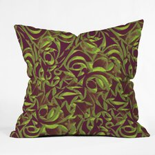Wagner Campelo Abstract Garden Indoor/Outdoor Polyester Throw Pillow