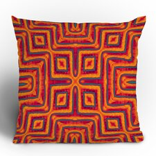 Wagner Campelo Sanchezia X Polyester Throw Pillow