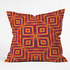 Wagner Campelo Sanchezia X Indoor/Outdoor Polyester Throw Pillow