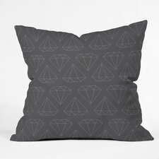 <strong>DENY Designs</strong> Wesley Bird Diamond Print Indoor/Outdoor Polyester Throw Pillow