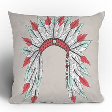 Wesley Bird Dressy Polyester Throw Pillow