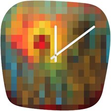 Madart Inc. Glorious Colors Clock