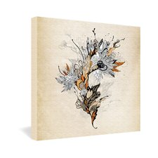 <strong>DENY Designs</strong> Iveta Abolina Floral 1 Gallery Wrapped Canvas